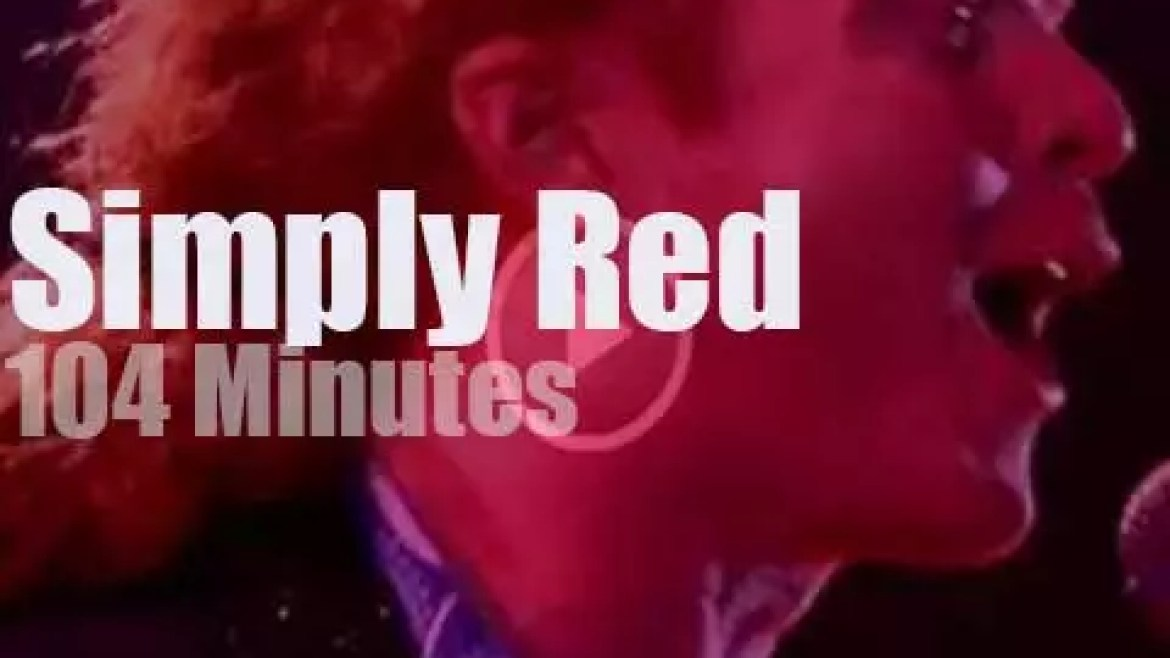 Simply Red spend two nights in Hamburg (1992)