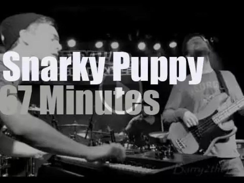 Snarky Puppy rock North Carolina (2014)