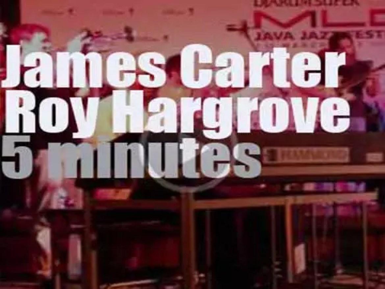 James Carter, Roy Hargrove et al jam at Java Jazz Festival (2013)