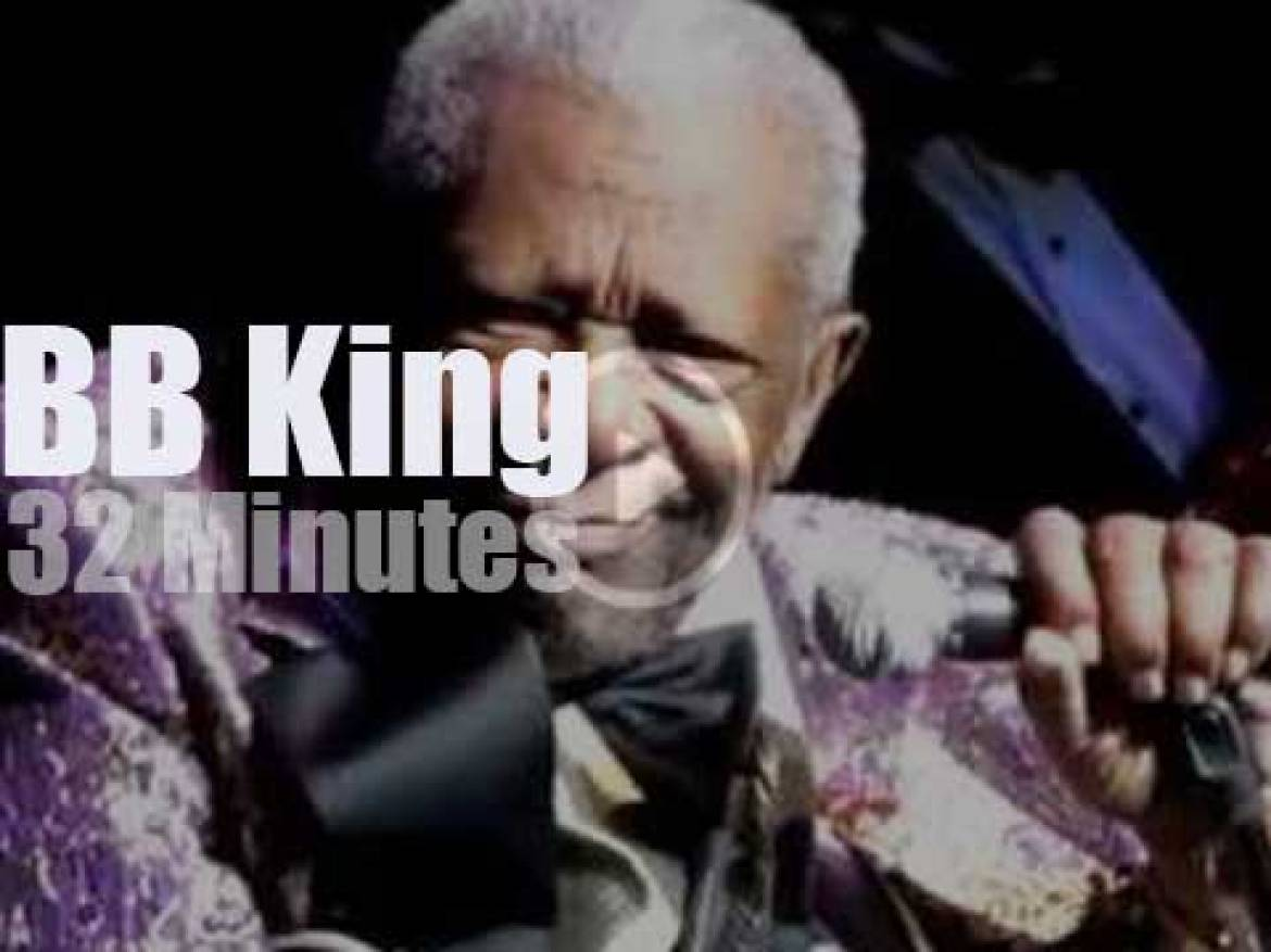 BB King visits Chattanooga, Tennessee (2012)