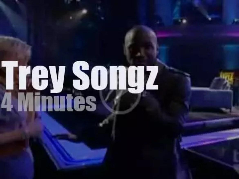 On TV today, Trey Songz at 'Lopez Tonight' (2010)