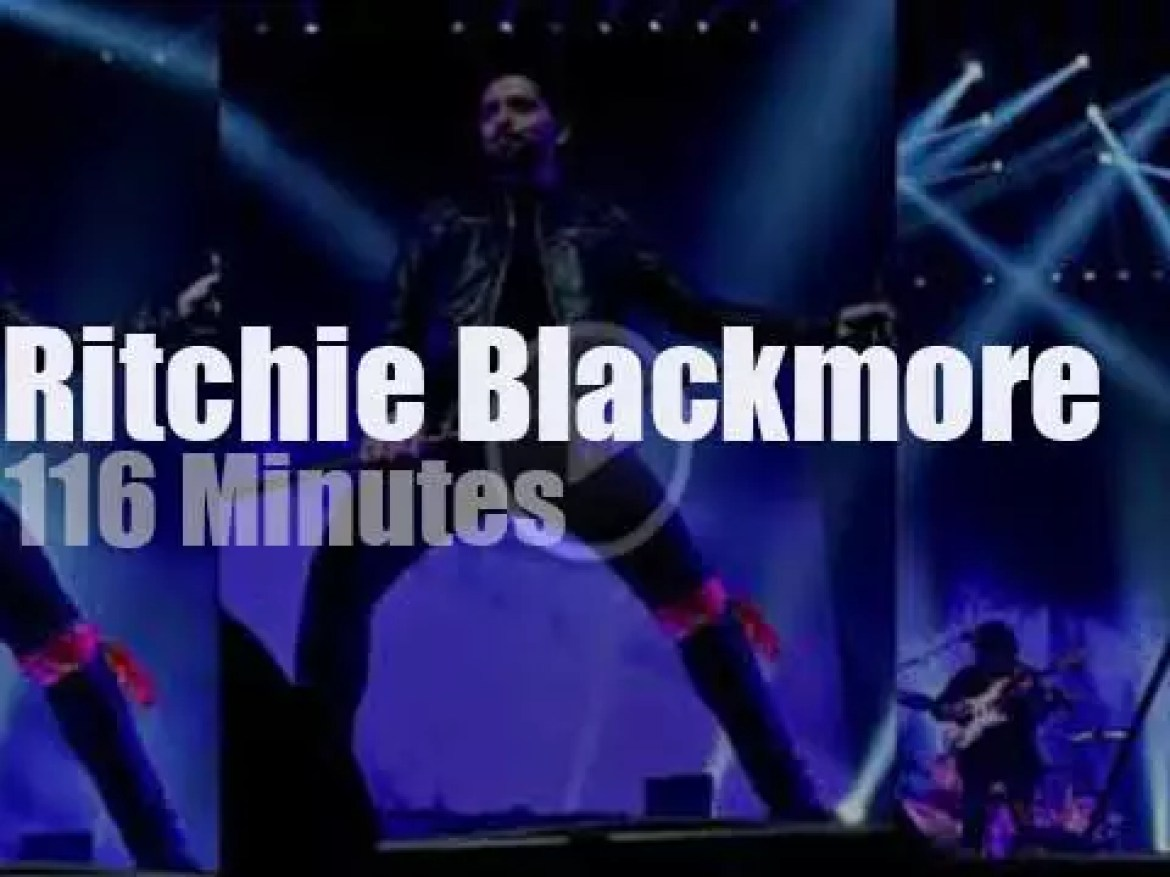 Ritchie Blackmore brings his Rainbow to Helsinki (2018)