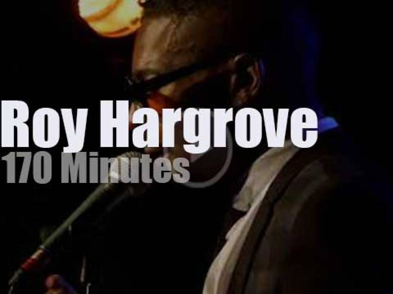 Roy Hargrove performs in Paris (2018)