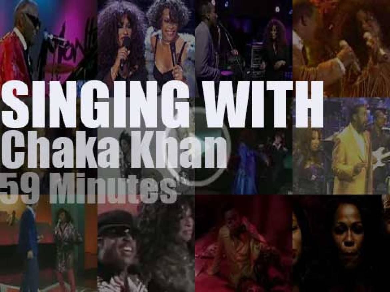 Singing  (and Playing) With Chaka Khan