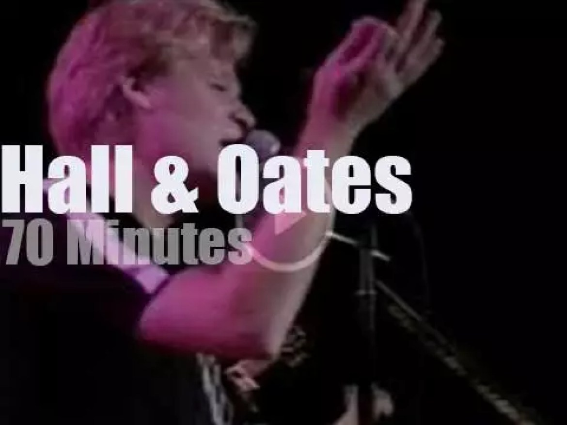 Hall & Oates go to Tokyo (1998)
