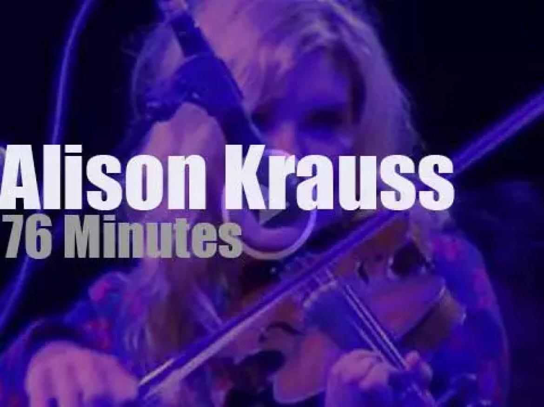 Alison Krauss & Union Station open in Kentucky (2014)