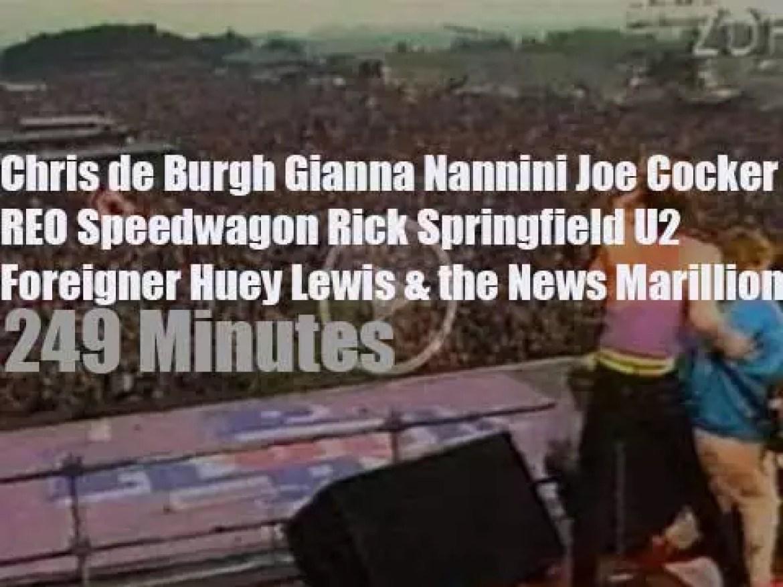 Chris, Gianna, Joe and al attend a German festival (1985)