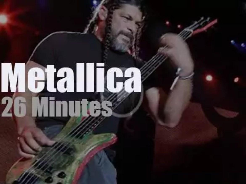 Metallica serenade Columbus, Ohio (2017)