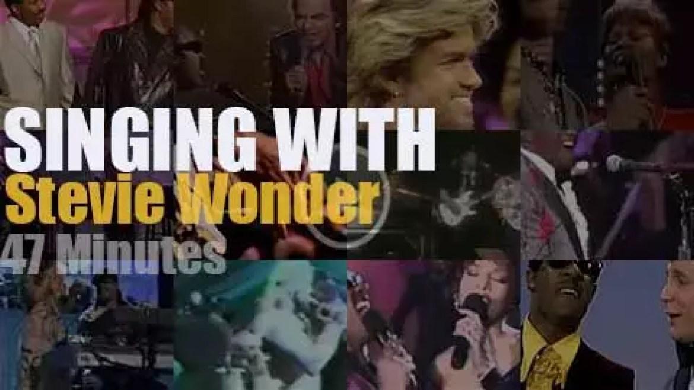 Singing With Stevie Wonder