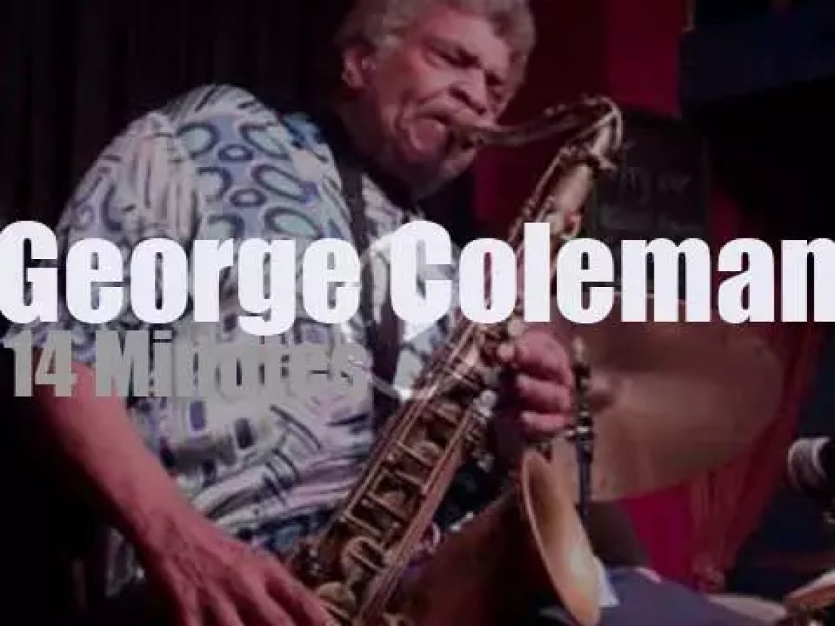 The George Coleman Quartet plays in New-York City (2013)