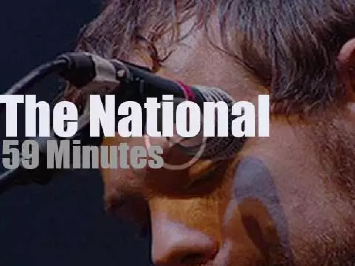 The National play a charity concert in Brooklyn (2010)