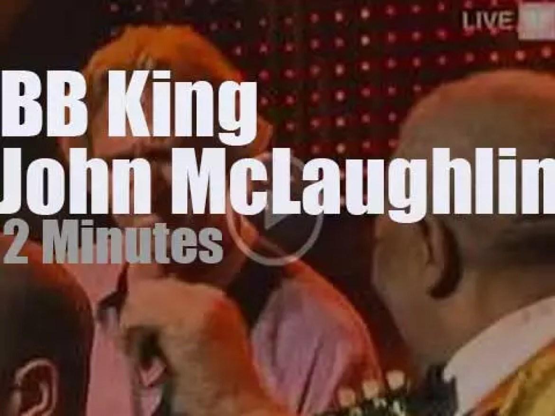 B.B.King meets John McLaughlin at Montreux Jazz (2006)