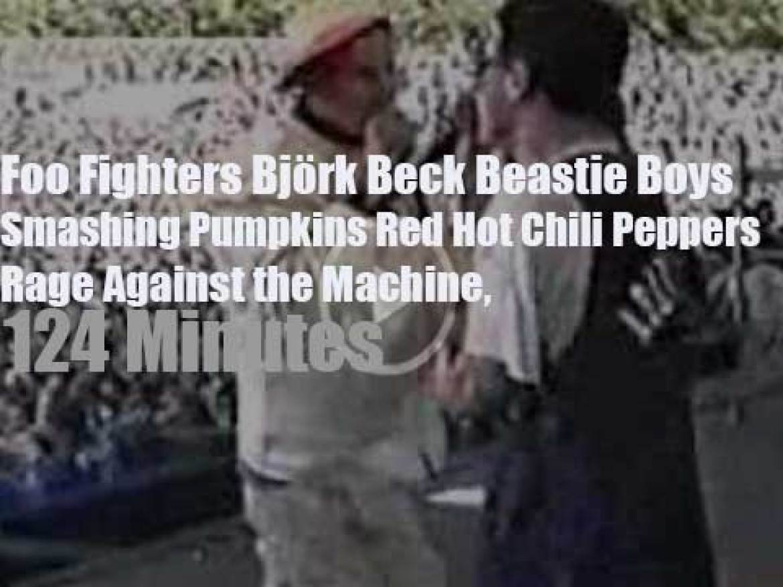 Beastie, Rage, Beck, Björk, Foo et al play for Tibet (1996)