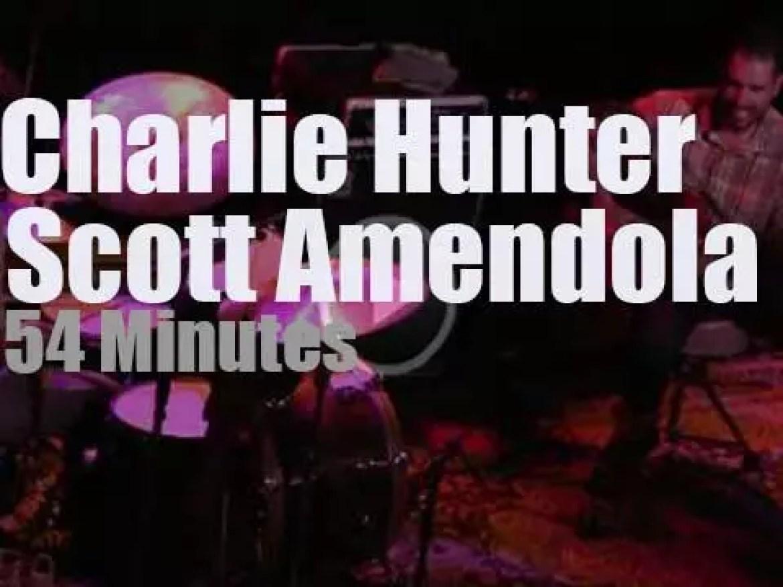 Charlie Hunter meets Scott Amendola in Dallas (2014)