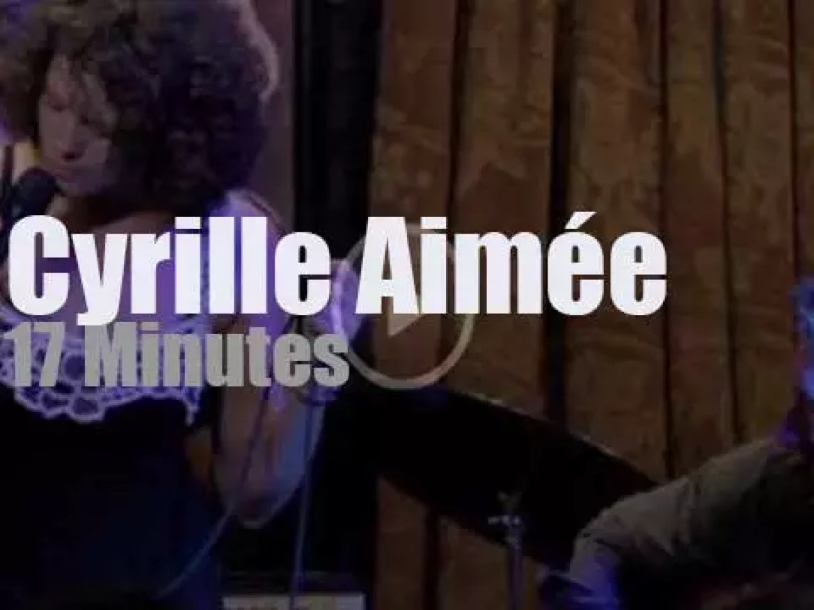 Cyrille Aimée goes clubbing in New-York (2013)