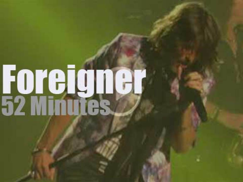 Foreigner rock Saratoga Springs (2018)