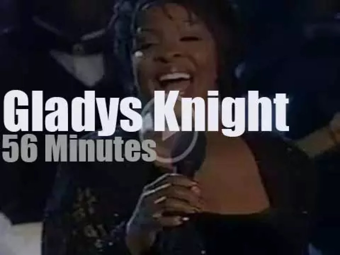 Gladys Knight performs at the White House (1997)