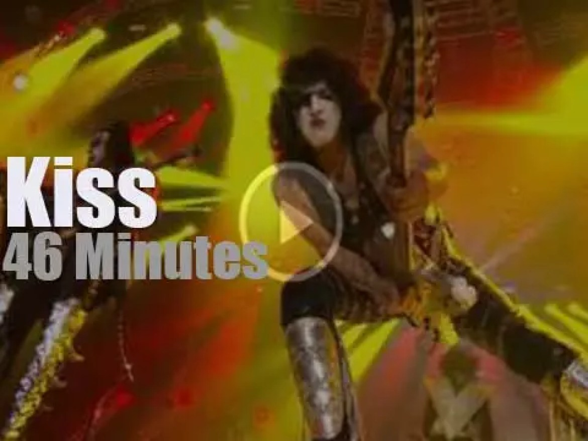 Kiss are 'Monsters' in Zurich (2013)