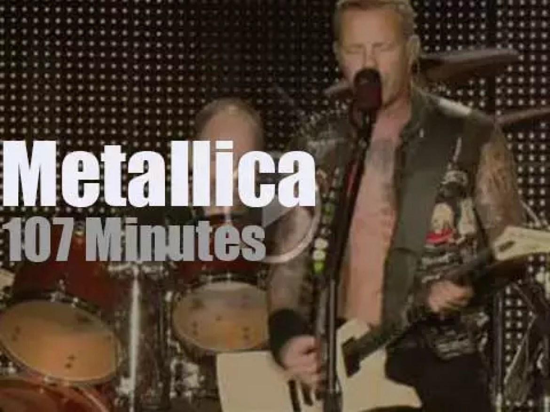 Metallica serenade Atlantic City (2012)