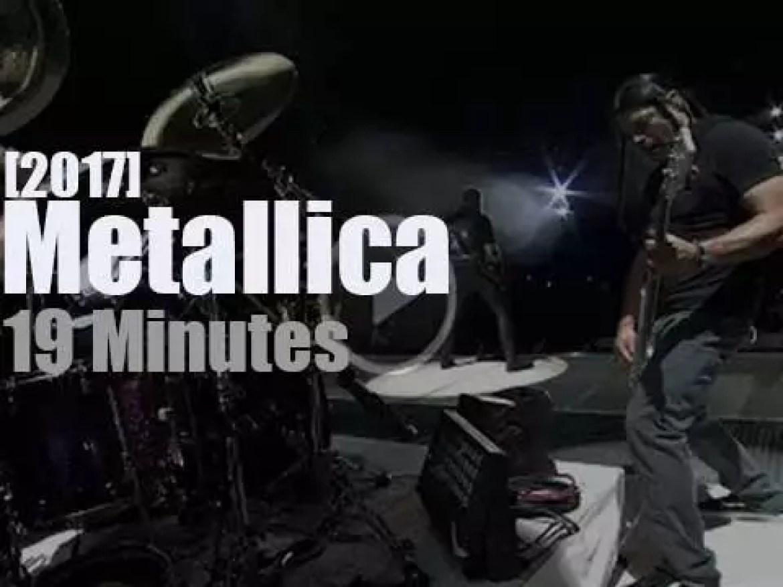 Metallica serenade Houston (2017)