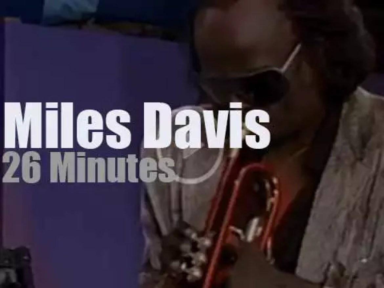 Miles Davis plays for Amnesty (1986)