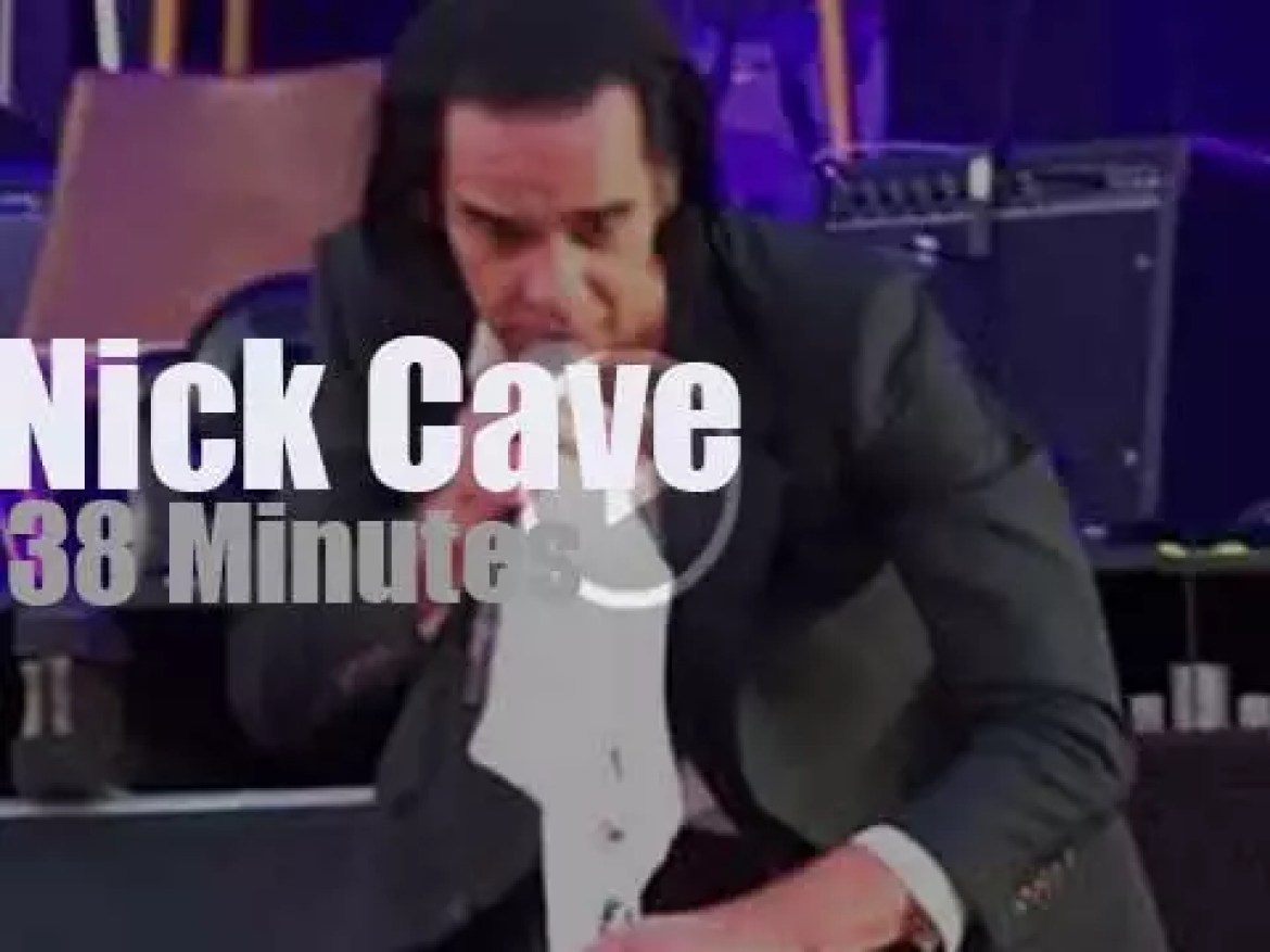 Nick Cave takes The Bad Seeds to Dublin (2018)