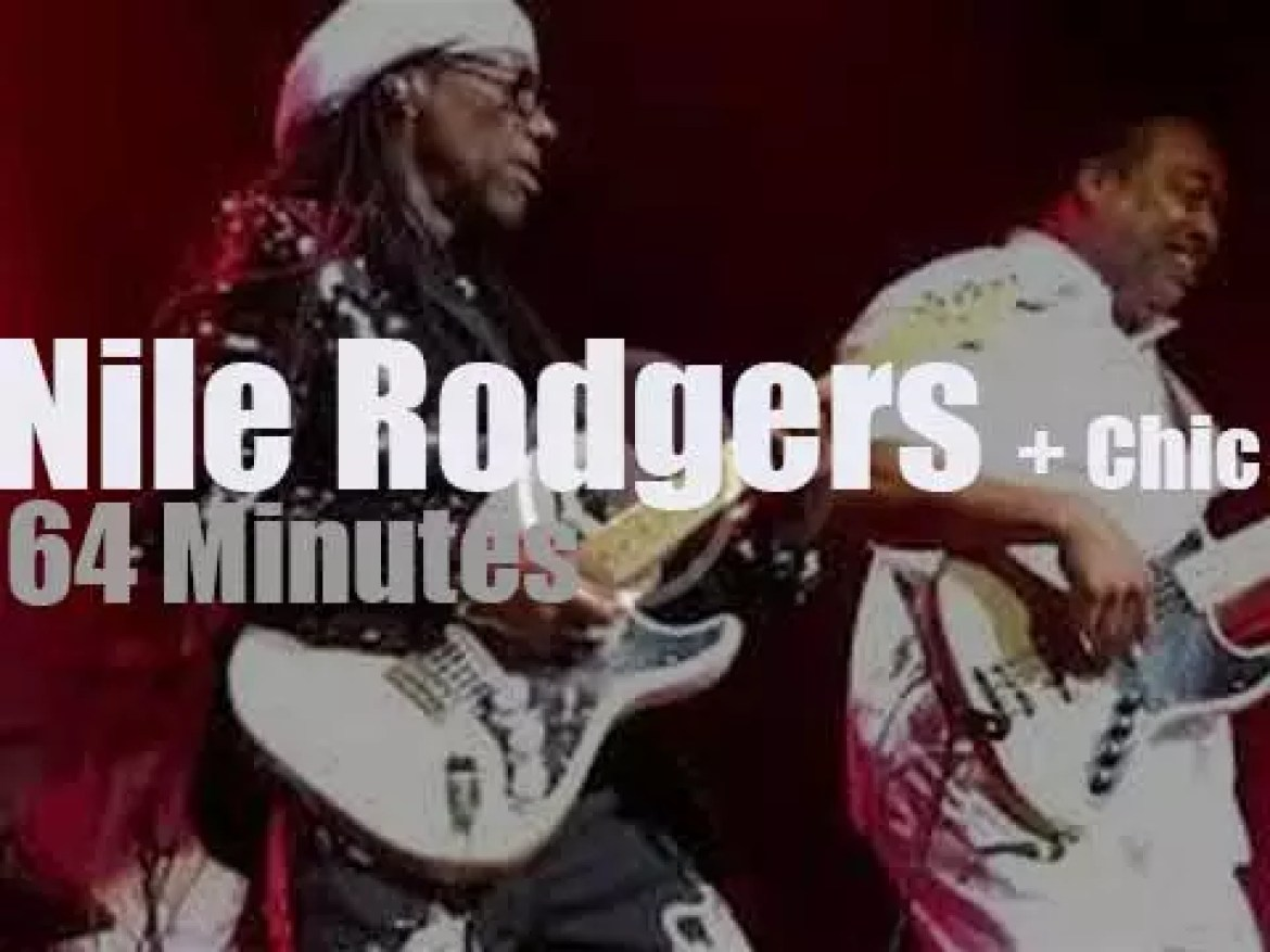 Nile Rodgers brings Chic to Paris (2018)