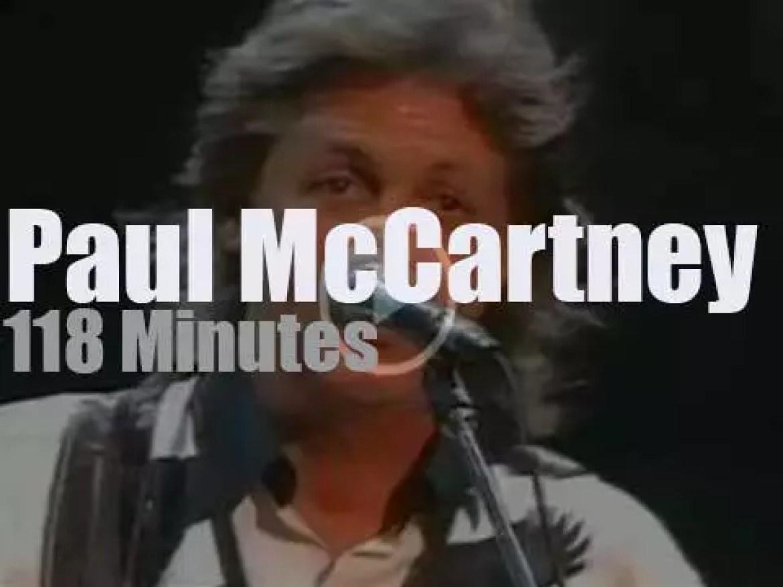 Paul McCartney sings for Charlotte (1993)