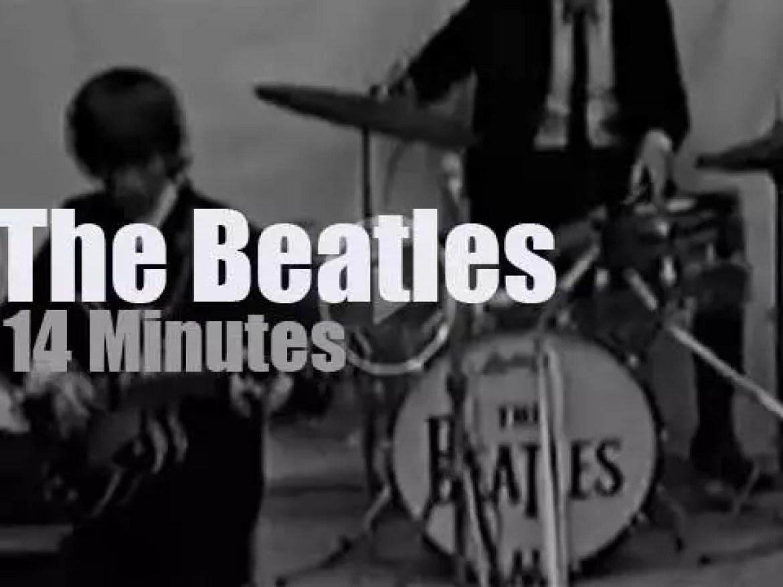 Ringo Starr calls it sick in Holland (1964)