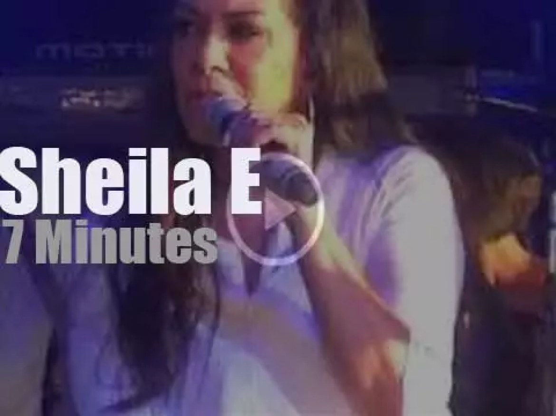 Sheila E debuts a song for Prince (2016)