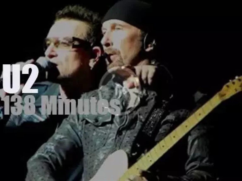 U2 bring the '360° Tour' to LA (2011)