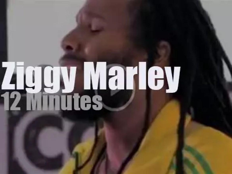 Ziggy Marley sings in New-York (2012)