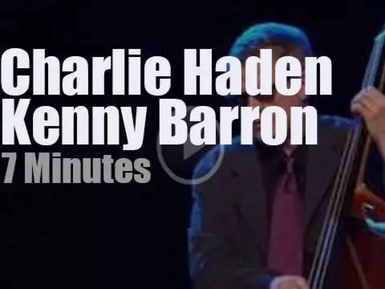 Charlie Haden meets Kenny Barron at 'Jazz Middelheim' (2009)