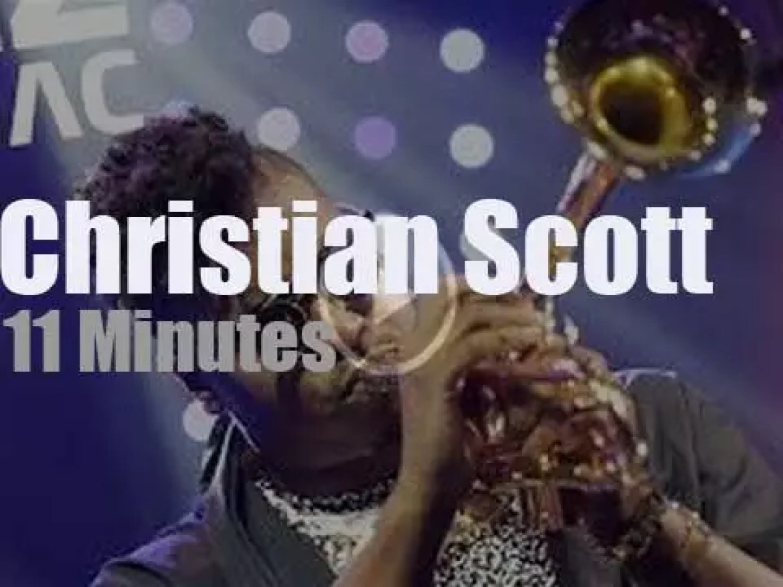 Christian Scott plays at 'Jazz in Marciac' (2014)