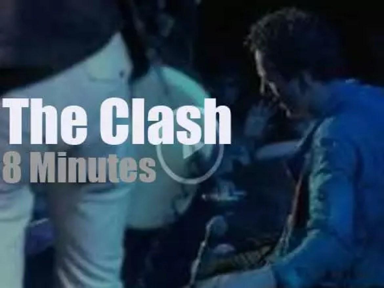 The Clash burn London (1978)
