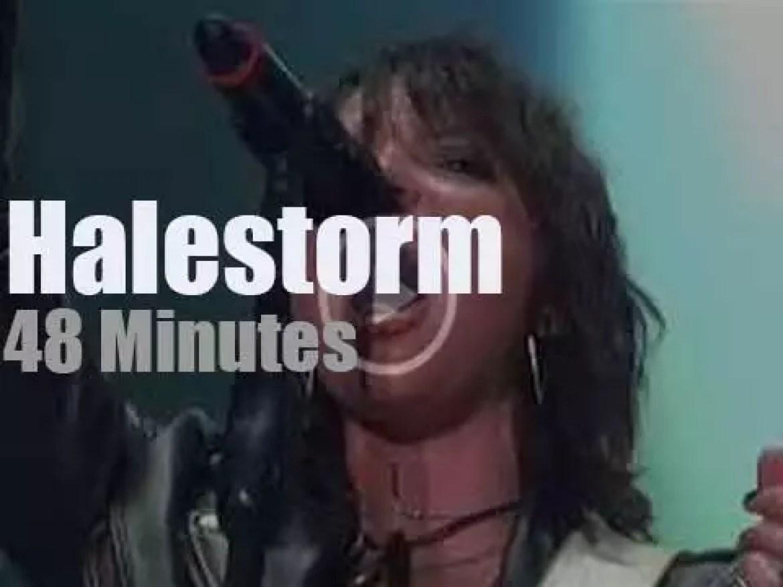 Halestorm  rock Wisconsin (2018)
