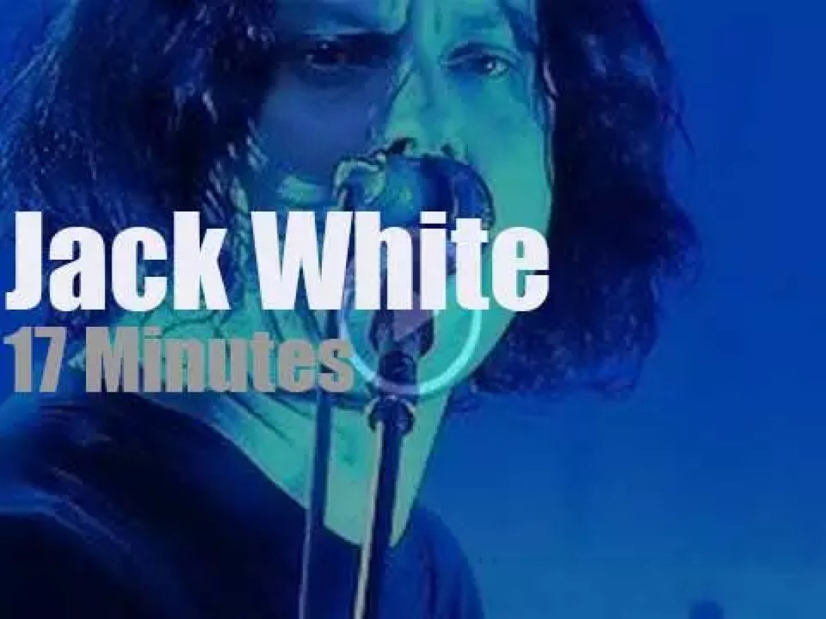 Jack White comes to Chicago (2014)