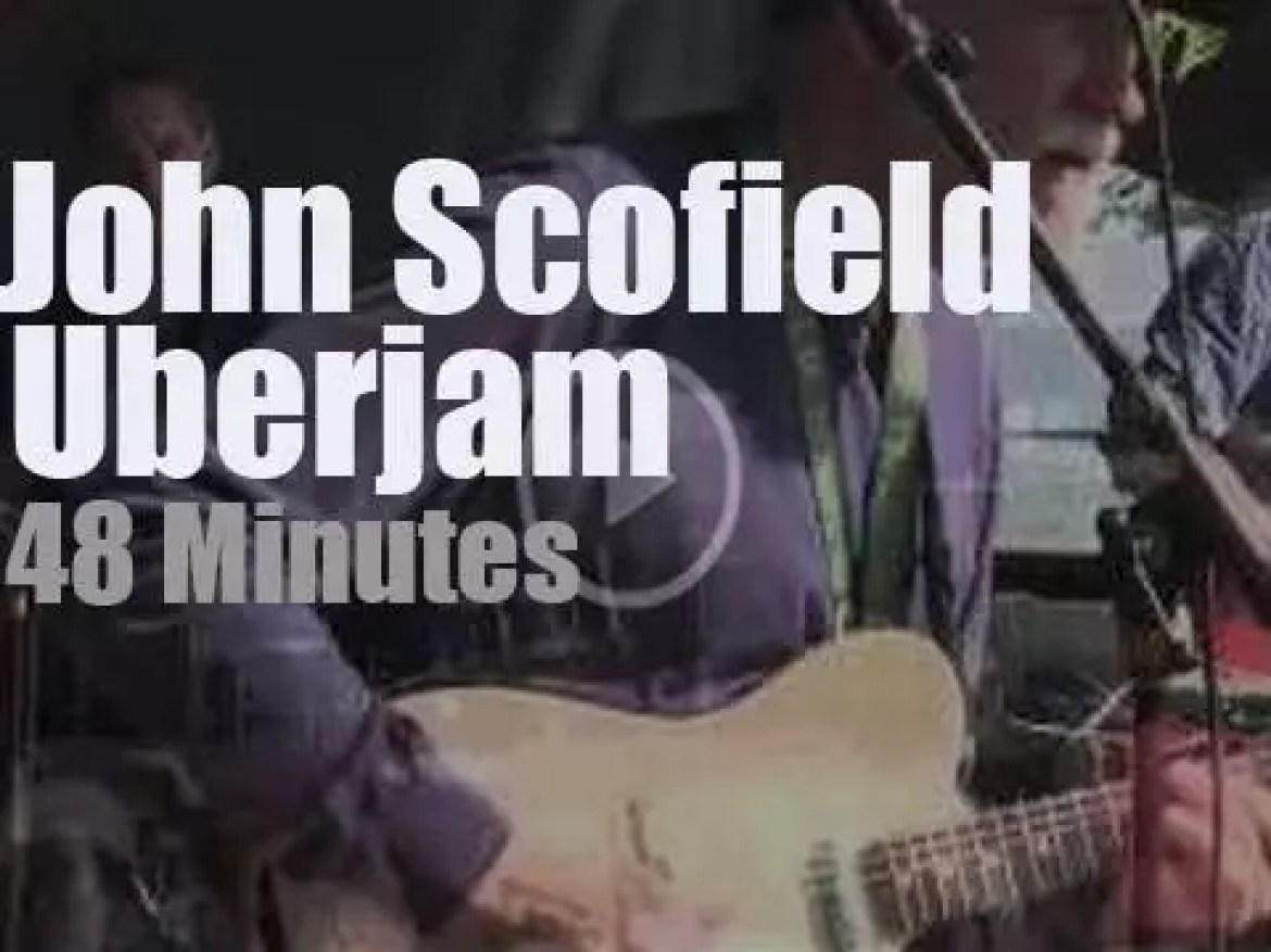 John Scofield and Uberjam attend a Connecticut festival (2013)