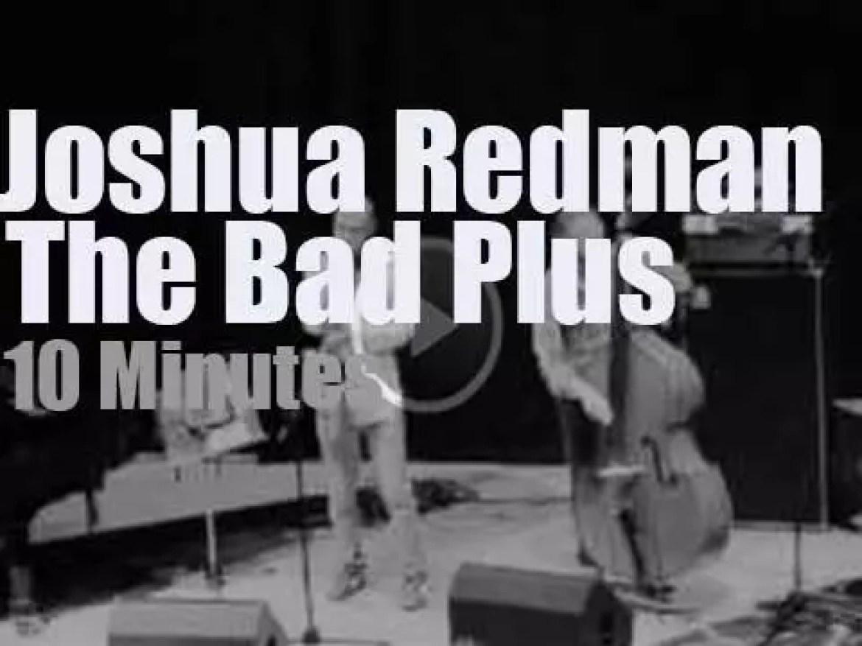 Joshua Redman sits in with The Bad Plus in Edinburgh (2012)