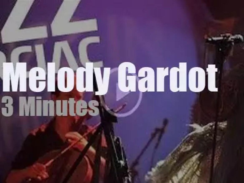 Melody Gardot sings at 'Jazz in Marciac' (2012)