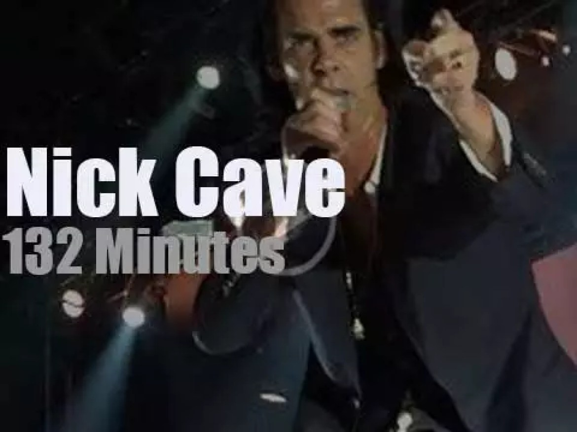 Nick Cave & The Bad Seeds visit Moscow (2018)