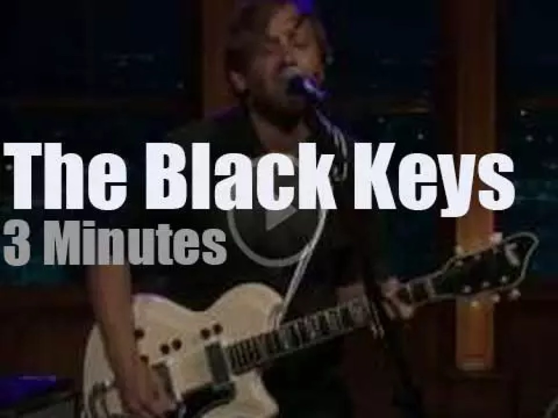On TV today, The Black Keys with Craig Ferguson (2010)