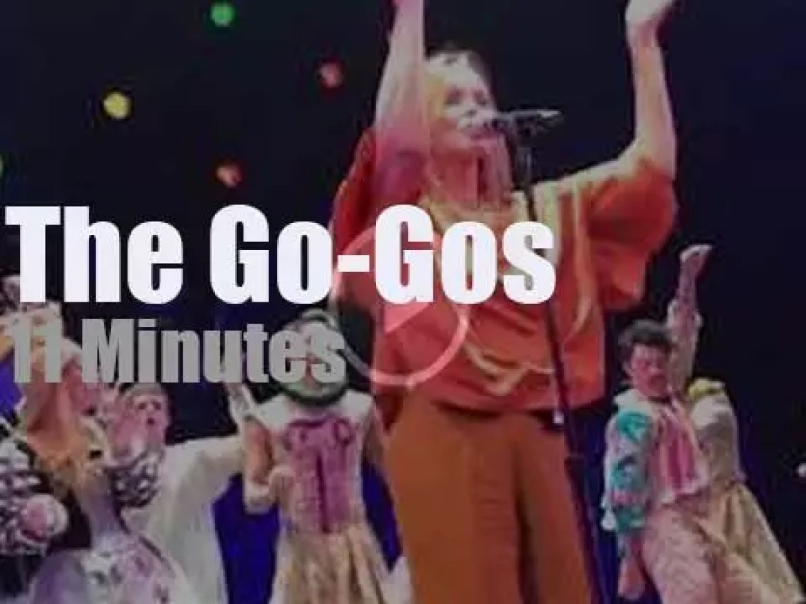 The Go-Gos perform on Broadway (2018)