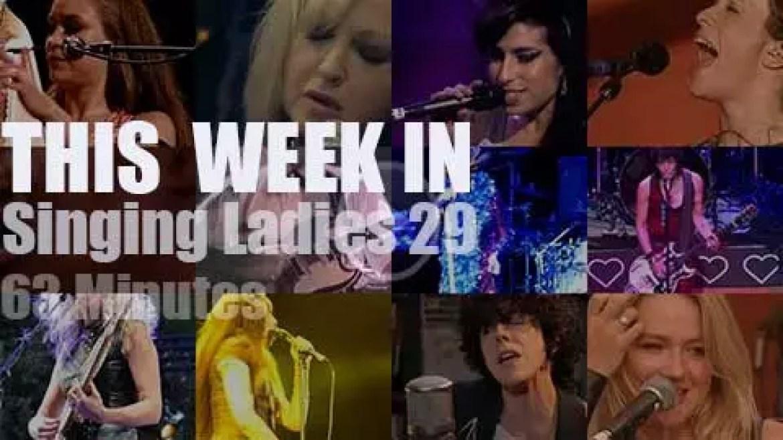 This week In Singing Ladies 29