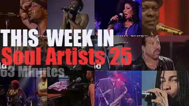 This week In Soul Artists 25