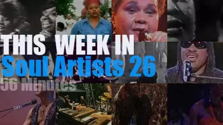 This week In Soul Artists 26