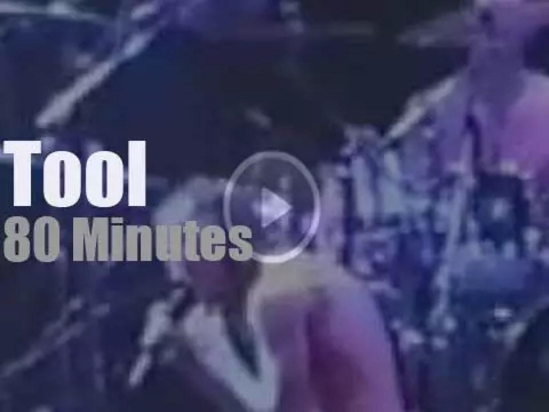 Tool play 'Undertow' in  London (1994)