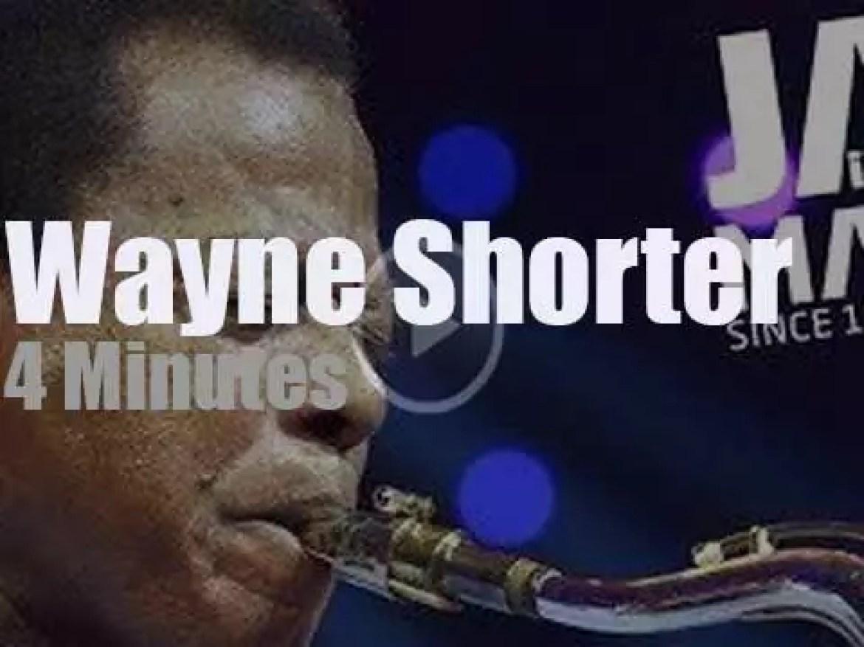 Wayne Shorter plays at 'Jazz in Marciac' (2013)