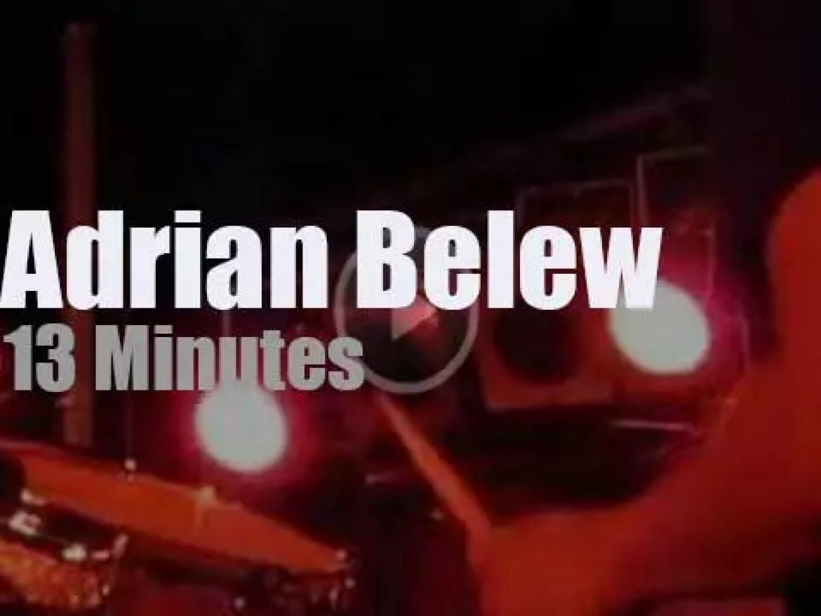Adrian Belew takes his Power Trio to New York City (2009)