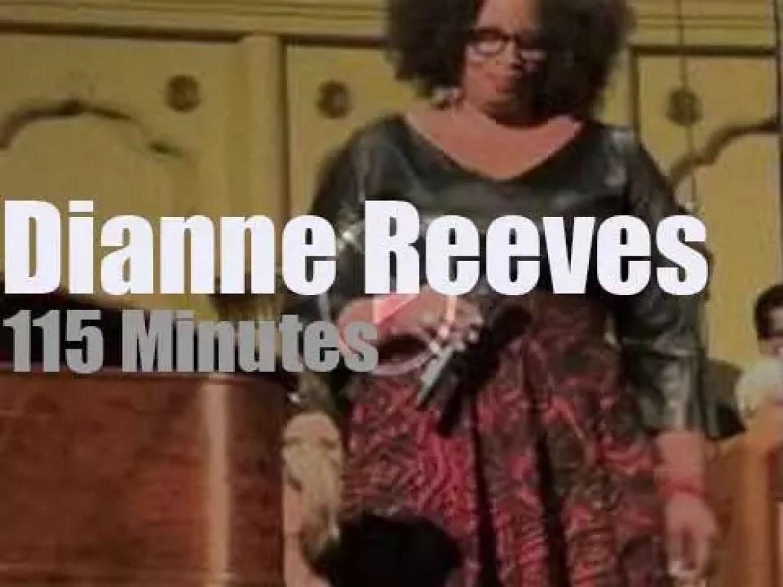 Dianne Reeves sings in Denver (2014)